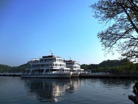 十和田湖の早朝