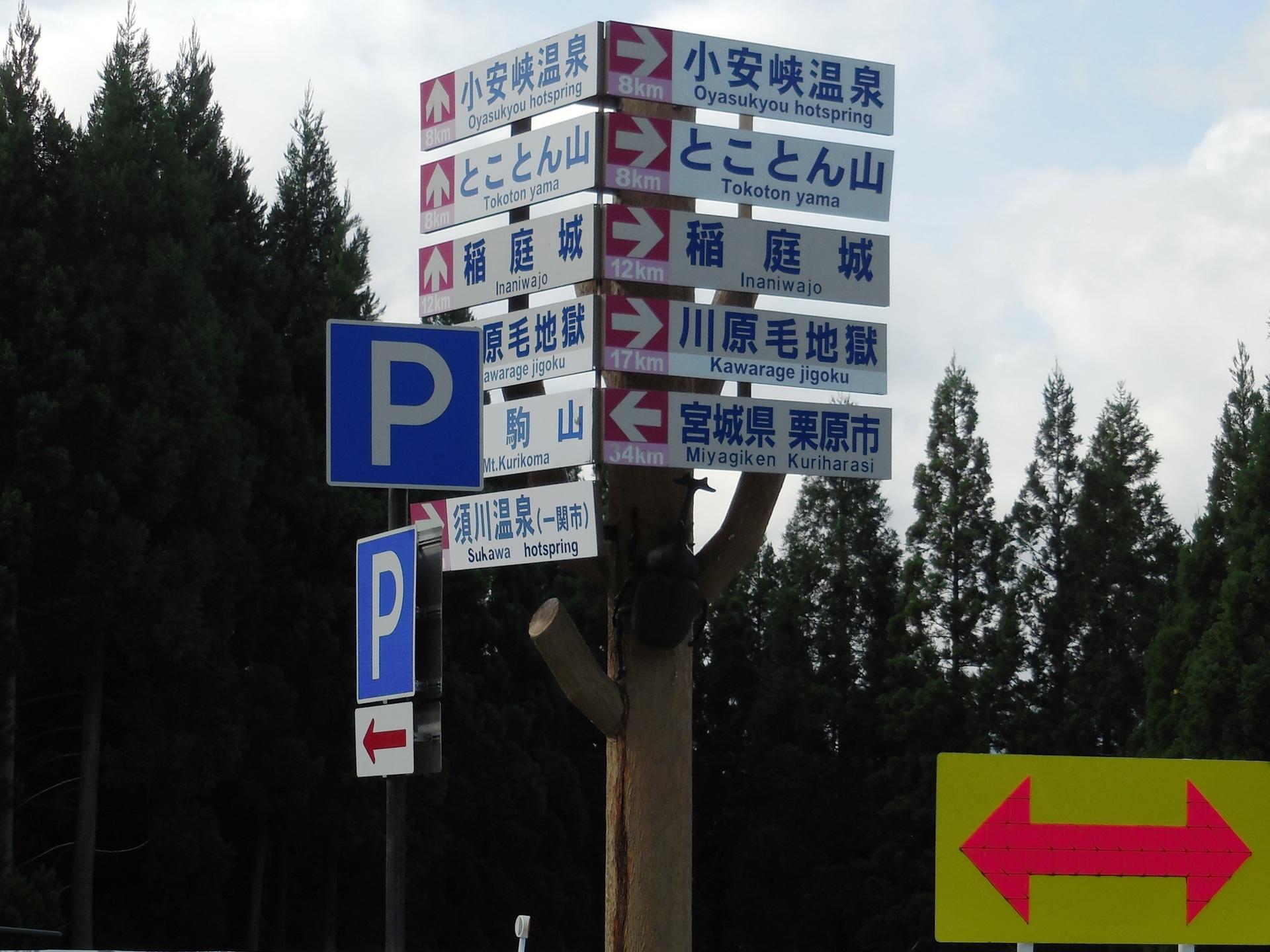 道路標識カブトムシ