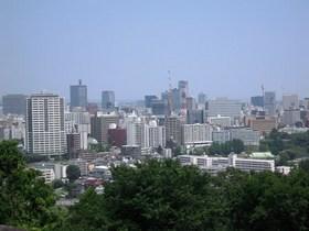 青葉城展望